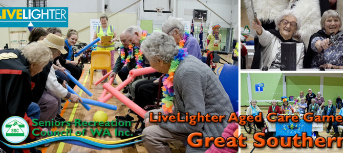 SRCWA Great Southern Live Lighter Aged Care Games