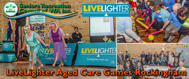 2018 SRCWA LiveLighter Aged Care Games Rockingham