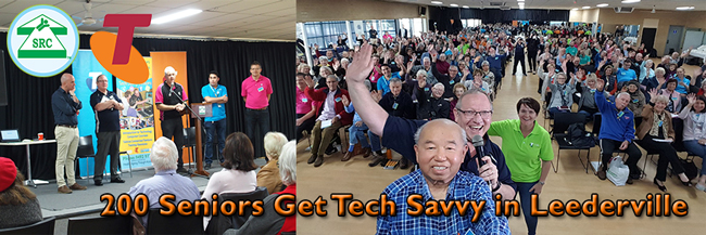 200 Seniors Get Tech Savvy in Leederville