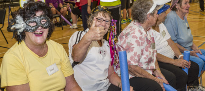 Register for the SRCWA Northam LiveLighter Aged Care Games