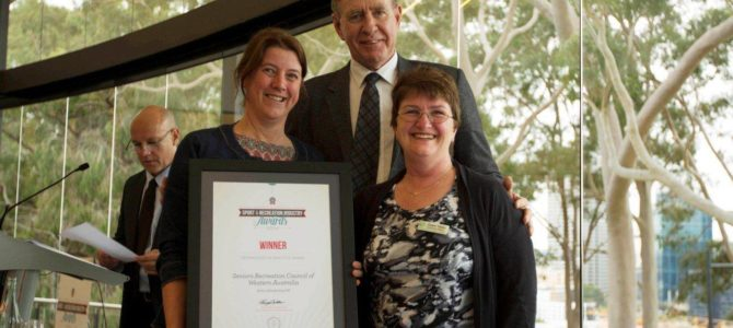 """SRCWA win Sport and Recreation Industry Awards 2014  """"Technology in Practice Award"""""""