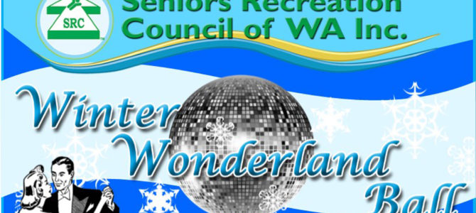 "SRCWA ""Winter Wonderland Ball"" tickets now on sale."