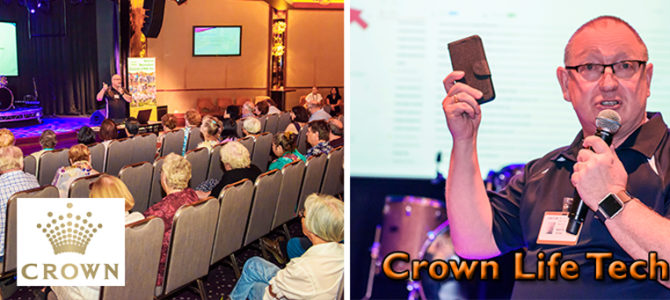 Crown Life Patrons Get Tech Savvy