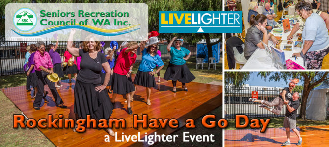 SRCWA Rockingham Branch Have a Go Day a LiveLighter Event