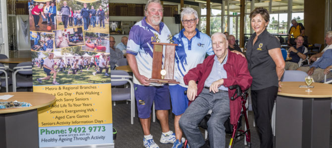 Sorrento Win Seniors Recreation Council State Over 60's Mixed Pairs Lawn Bowls