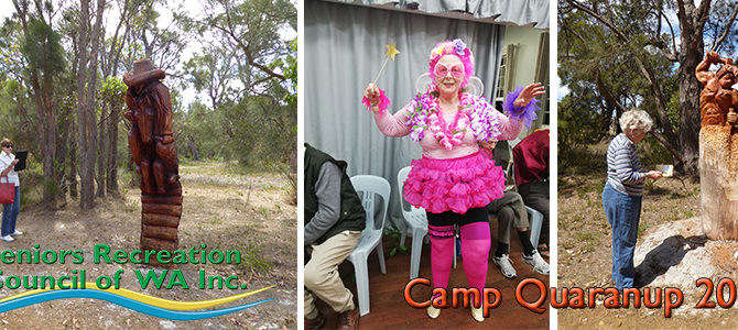 SRCWA 27th Annual Seniors Camp at Camp Quaranup