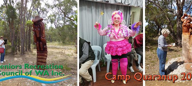 SRCWA 27th Annual Seniors Camp at Camp Quaranup