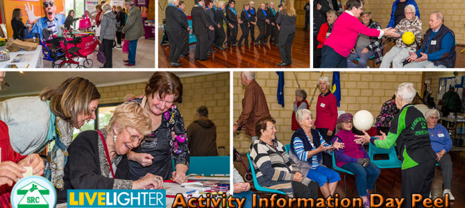 SRCWA Peel Branch LiveLighter Activity Information Day 2019