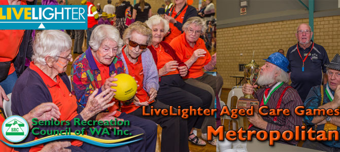 2019 SRCWA LiveLighter Metro Aged Care Games