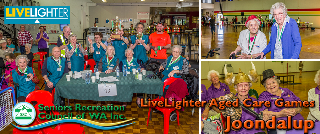 Winners Myvista, 103 year old Angela and 102 year old May and fun dress ups.