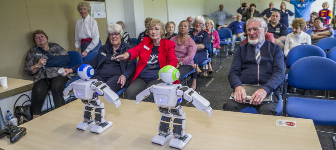 Robots go wild at the SRCWA Annual General Meeting