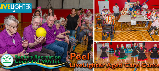 2019 SRCWA Peel Branch LiveLighter Aged Care Games Waroona