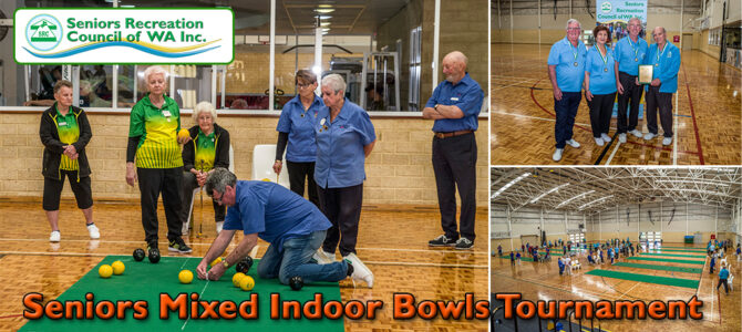 SRCWA Seniors Mixed Indoor Bowls Tournament