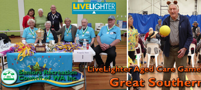 Albany LiveLighter Aged Care Games 28th November 2019