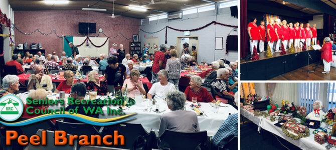 "SRCWA Peel Branch ""Strong on Your Feet"" Christmas Party"