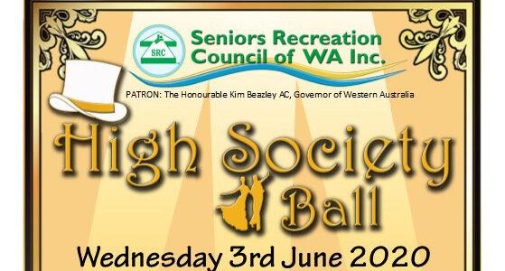 "SRCWA 2020 ""High Society"" Ball"