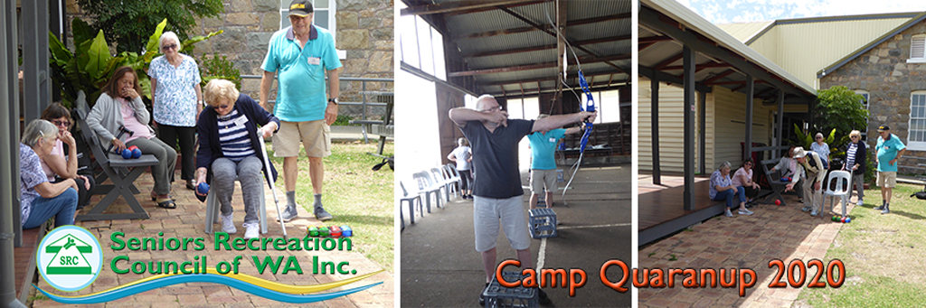 SRCWA 28th Annual Seniors Camp at Camp Quaranup