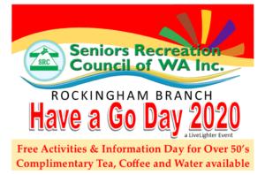 Rockingham Have a Go Day Banner