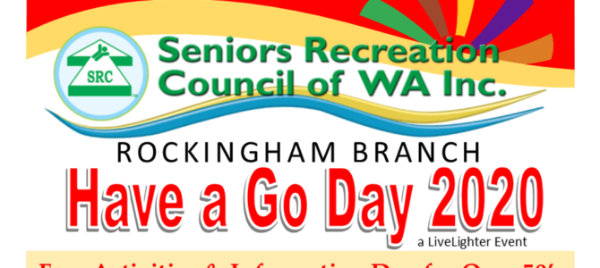SRCWA Rockingham Branch Have a Go Day a LiveLighter Event Registrations Now Open