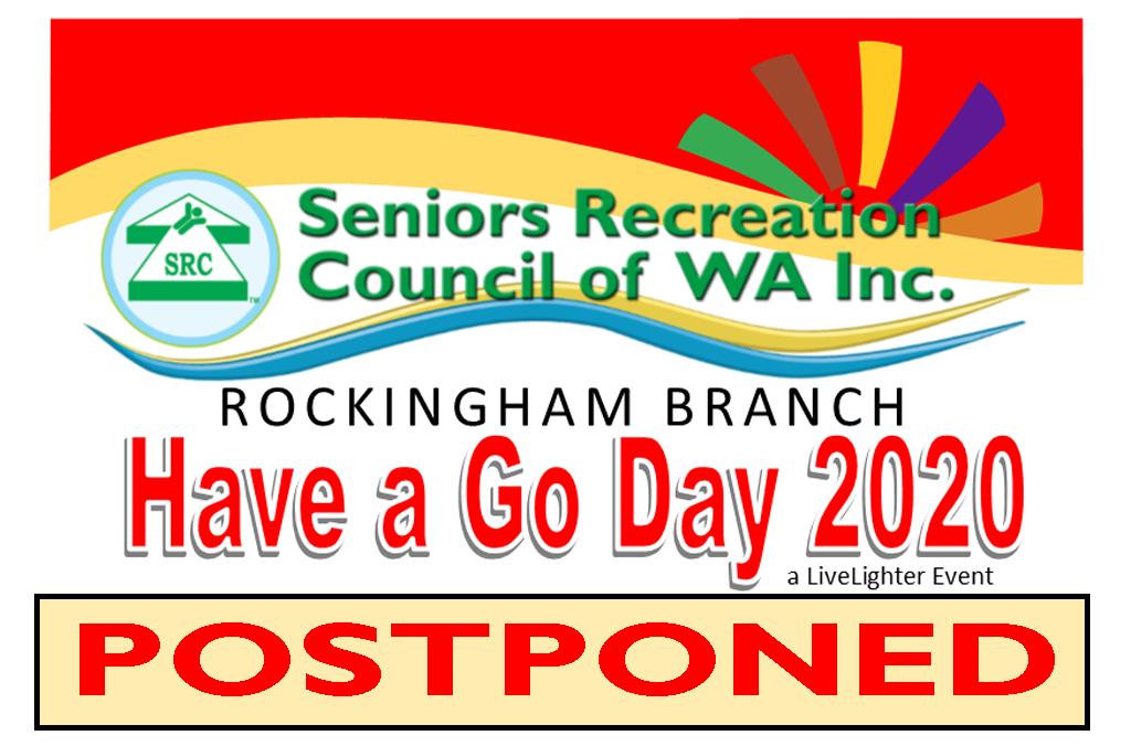 Postponement of Rockingham Have a Go Day, a LiveLighter Event
