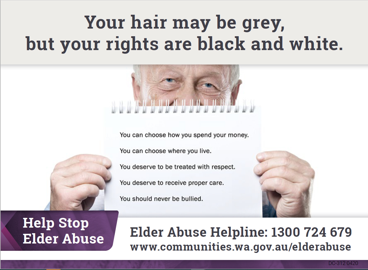 World Elder Abuse Awareness Day 15th June 2020