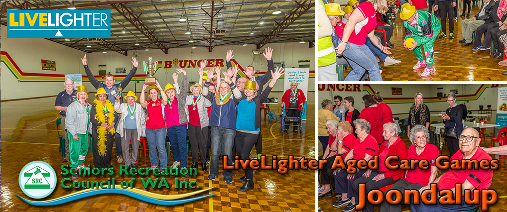 SRCWA LiveLighter Aged Care Games – Joondalup 7th September 2020