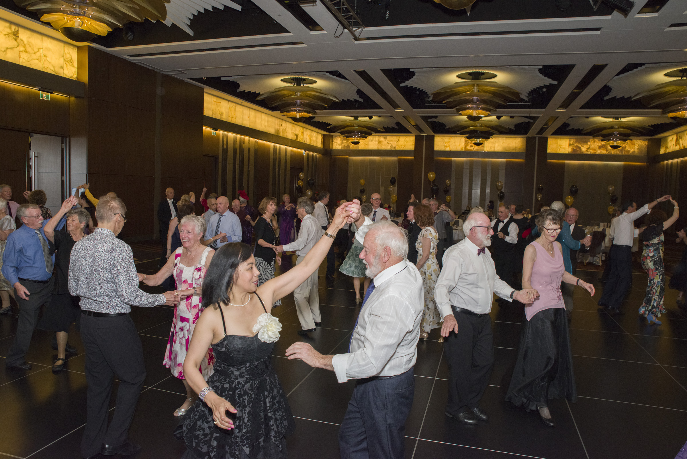 "Seniors Get ""Out and About"" at the SRCWA – High Society Ball"