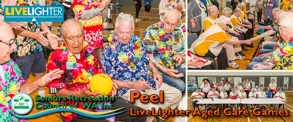 Peel LiveLighter Aged Care Games Back on Schedule.