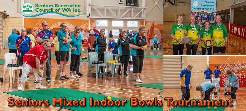 SRCWA Seniors Mixed Indoor Bowls Tournament 2020