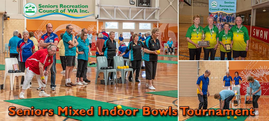SRCWA Seniors Mixed Indoor Bowls Tournament 2020