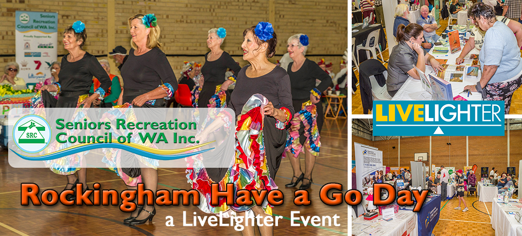 SRCWA Rockingham Branch Have a Go Day 2021 a LiveLighter Event is on!