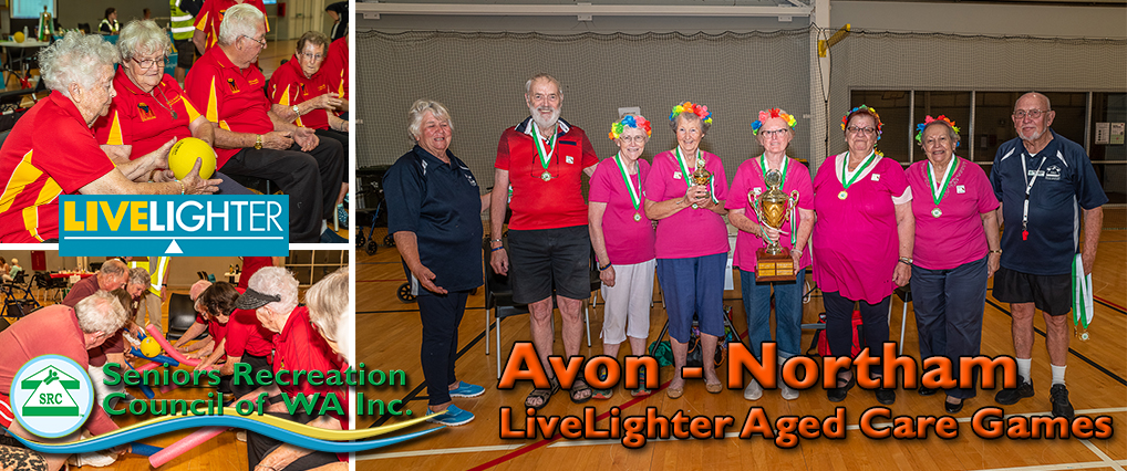 Floods Don't Stop Seniors at the Avon LiveLighter Aged Care Games in Northam