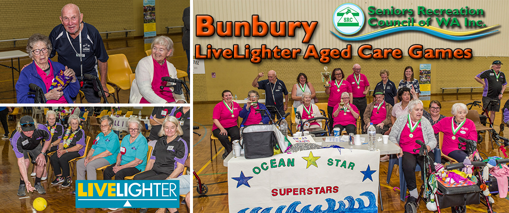 SRCWA Bunbury LiveLighter Aged Care Games Back on After a Break