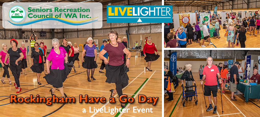 10th SRCWA ROCKINGHAM BRANCH HAVE A GO DAY a LiveLighter Event Wednesday 31st March 2021.