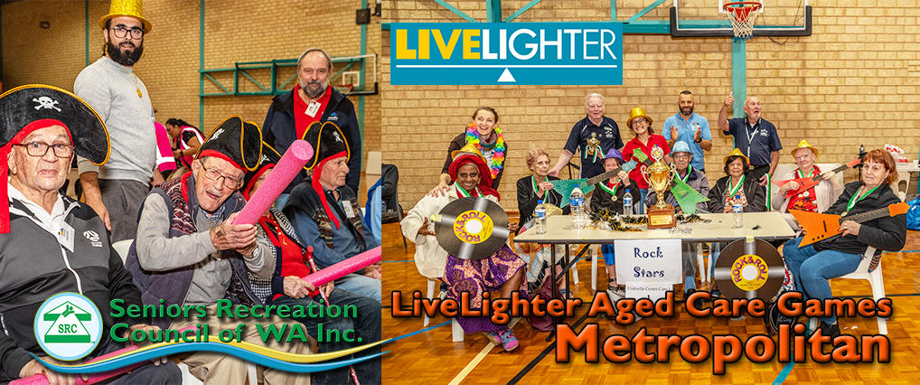 LiveLighter Aged Care Games – Metro 2021