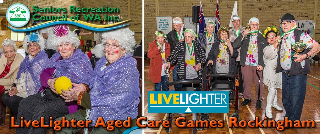 SRCWA LiveLighter Aged Care Games Return to Rockingham