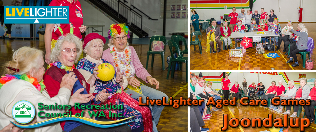 Joondalup 2021 LiveLighter Aged Care Games.