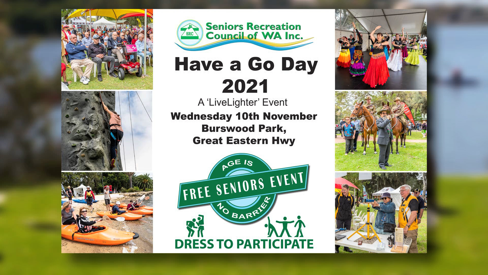 Have a Go Day a LiveLighter Event 2021