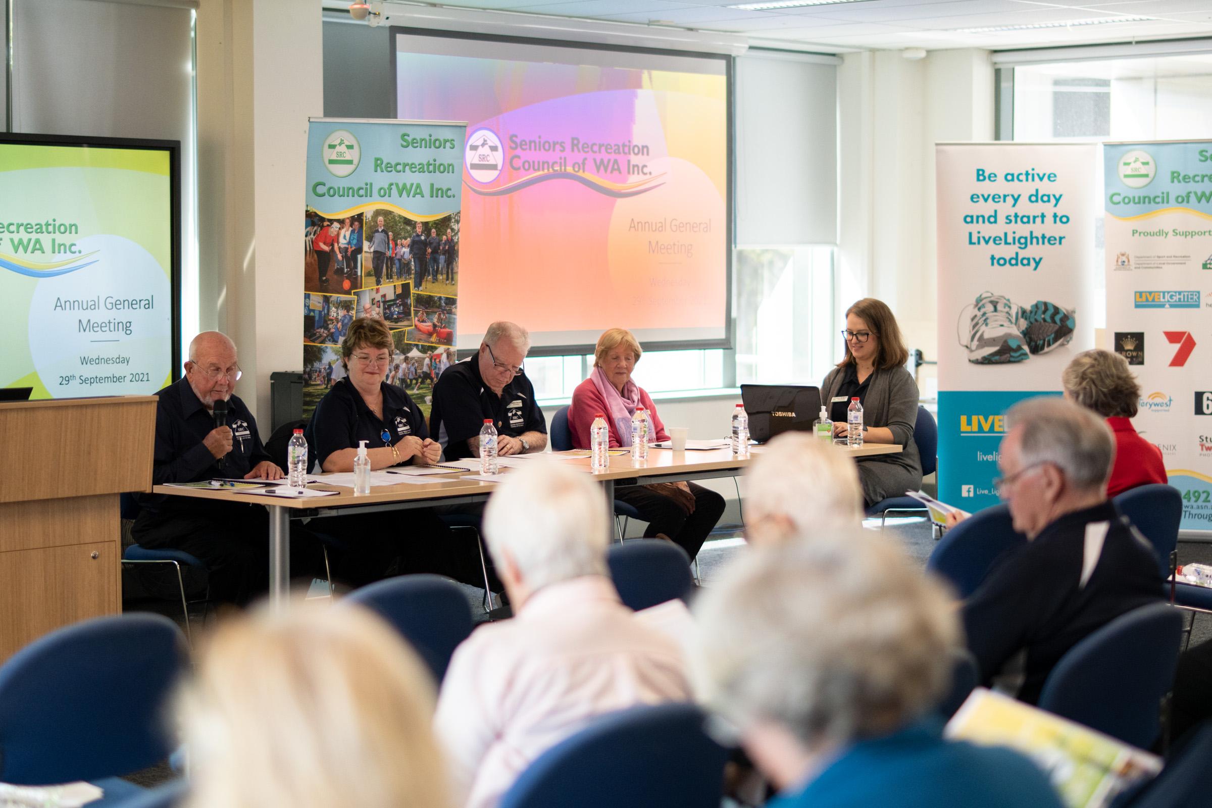 SRCWA Annual General Meeting 2021